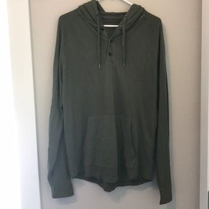 Men's American eagle hooded shirt
